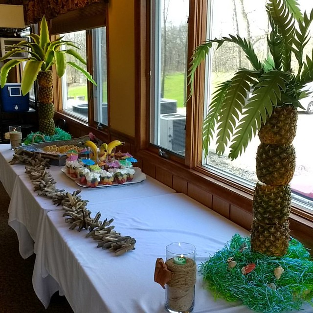 Photo:Went to a super cute bridal shower today 🌴🐬 By jessica mullen
