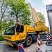 2017_04_11 pose poste de transformation - parc Gerlache