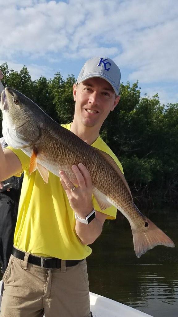 2017 spring Tampa Bay Redfish 813-245-4738 Tampafishingcharters.com
