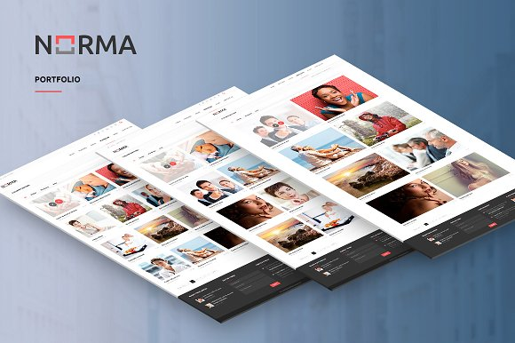 Norma v1.5 – Business WordPress Theme