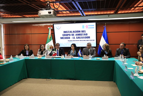 Grupo de Amistad México-El Salvador 20/abr/17