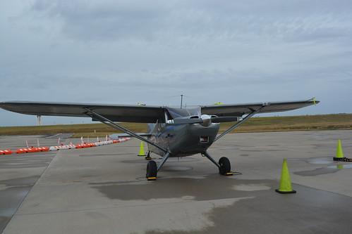 Unidentified airplane