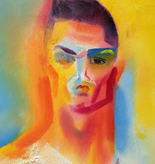 Cristiano Ronaldo (Detail) 2017 by Stephen B. Whatley
