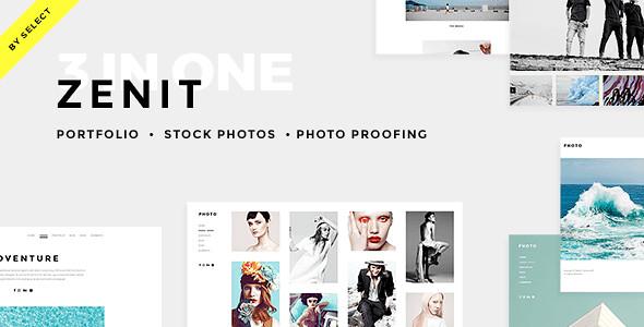 Zenit WordPress Theme free download