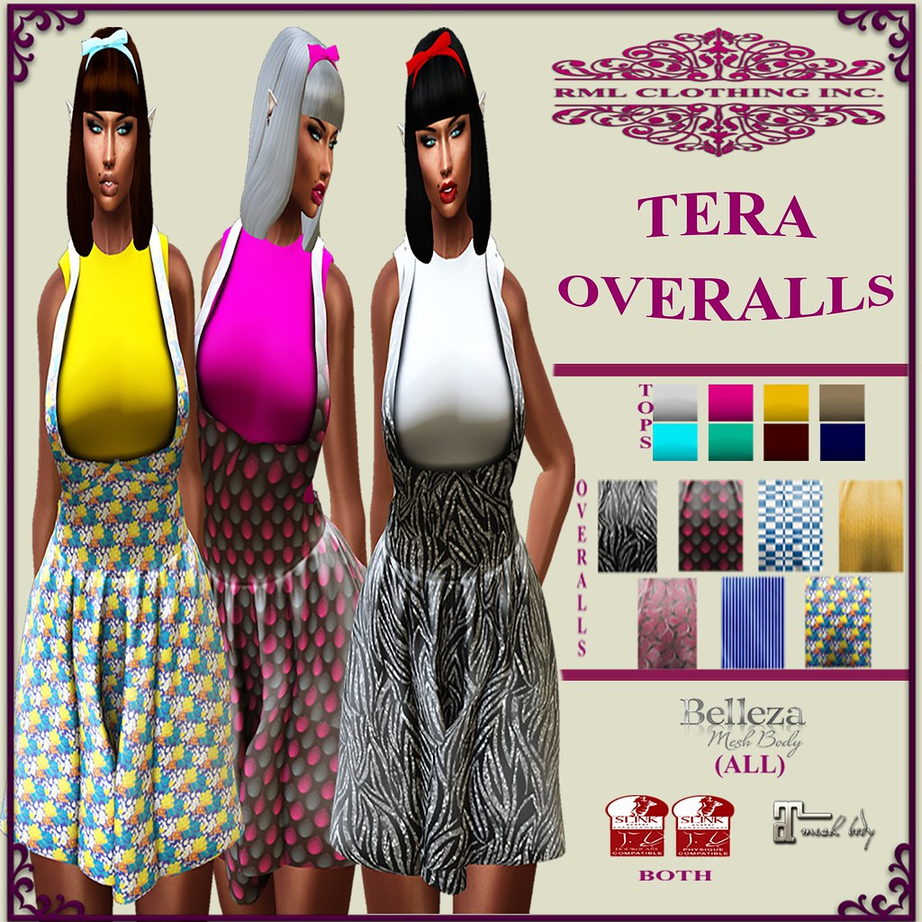 RML TERA OVERALLS OFFICIAL AD - SecondLifeHub.com