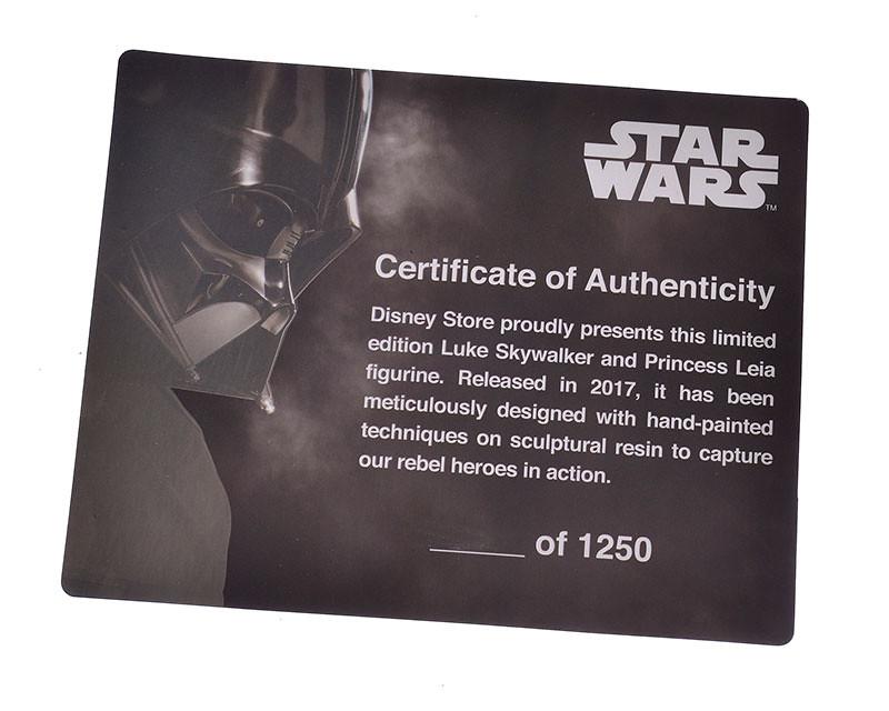 死忠星戰迷最棒的收藏!限量發行的《星際大戰40週年紀念》路克 & 莉亞雕像 Luke Skywalker & Princess Leia Figurine
