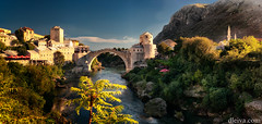 Mostar old bridge, Bosnia and Herzegovina