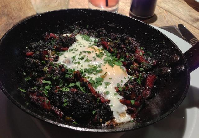 malmaison sunday brunch huevos rancheros