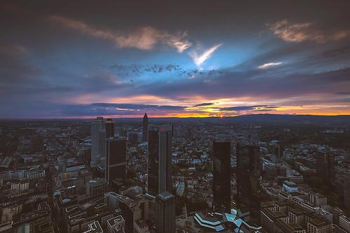Frankfurt Sunset   05.2013