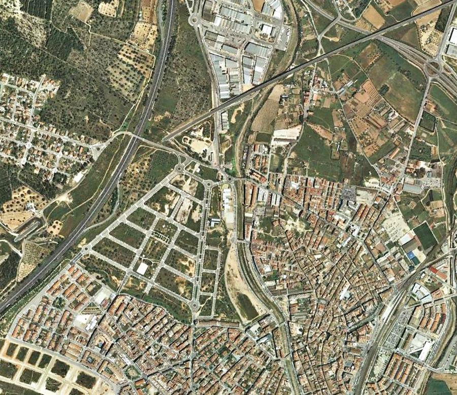 Vendrell, tarragona, urbanismo, desastre, cataluña, catalunya, planeamiento, urbano, antes, después, construcción, urbanístico