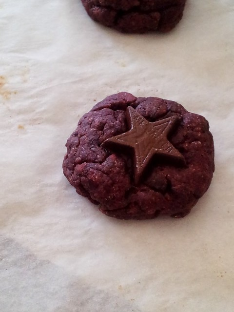 Red Velvet Star Cookies