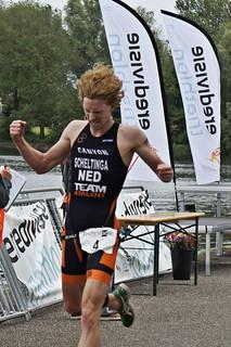 Evert Scheltinga wint NK Sprint in Amsterdam