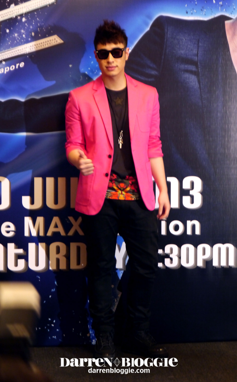 will pan unleashed singapore concert press conference