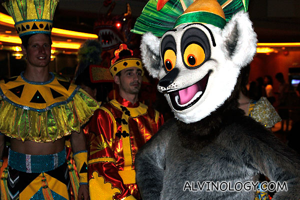 King Julien from Madagascar