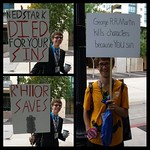 Game of Thrones Religious Protesters