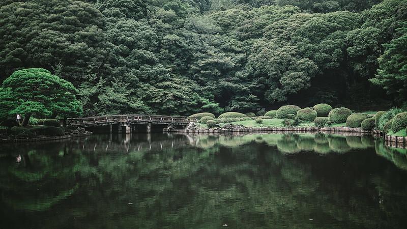 新宿御苑。