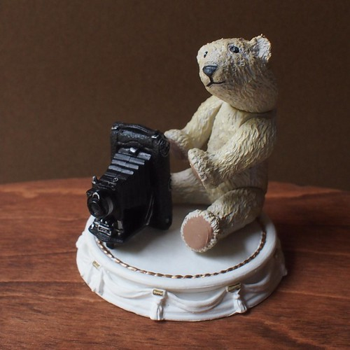 Miniature Replica - Antique Teddy Bear Collection by Kaiyodo