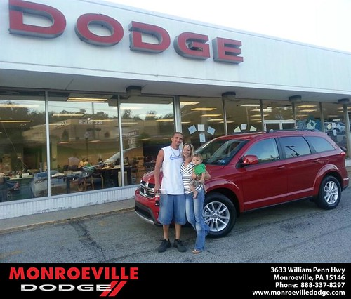 Thank you to Jeffrey Cardamone on the Dodge Durango from Scott Butler and everyone at Monroeville Dodge! by Monroeville Dodge