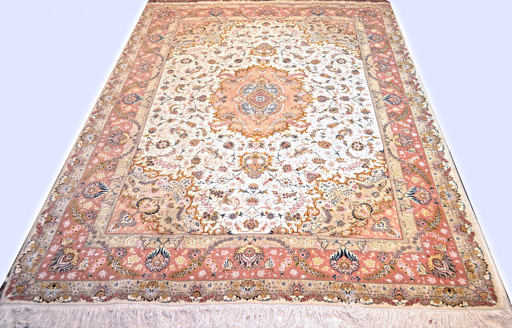 Benam Silk Persian Rug Item Sb 1