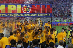Steaua, premiere titlul 24