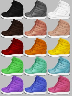 [whatever] sportsneakers - colorchart