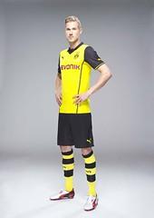 Oliver Kirch: Borussia Dortmund (BVB) Champions League-Trikot (Saison 2013-2014) von Puma