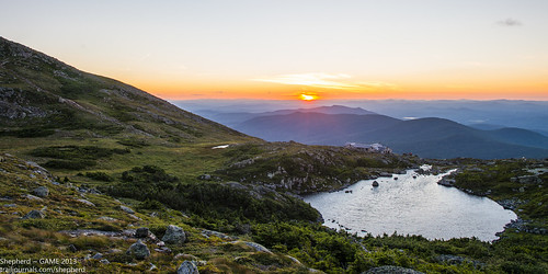 8.05 ~ Sunset at Lake of the Clouds