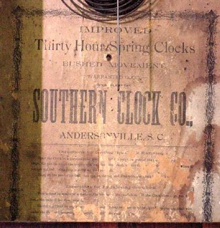 Andersonville Clock Label
