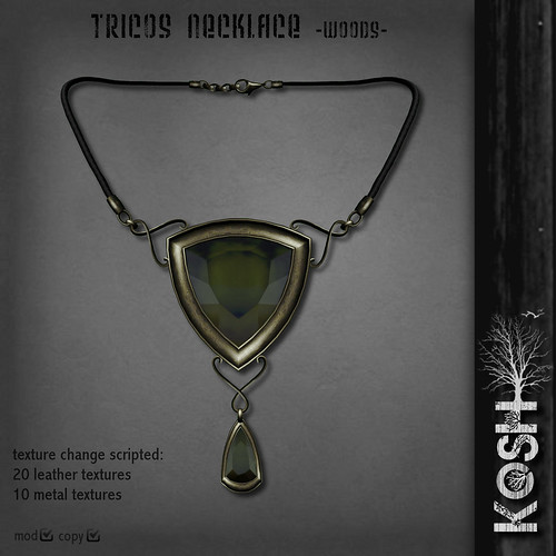 KOSH- TRICOS NECKLACE -woods- PIC