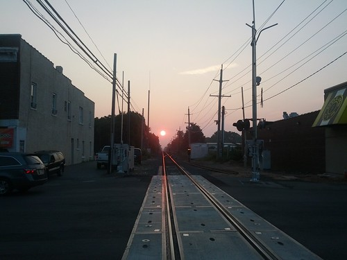 railroad sunrise longisland flickrandroidapp:filter=none