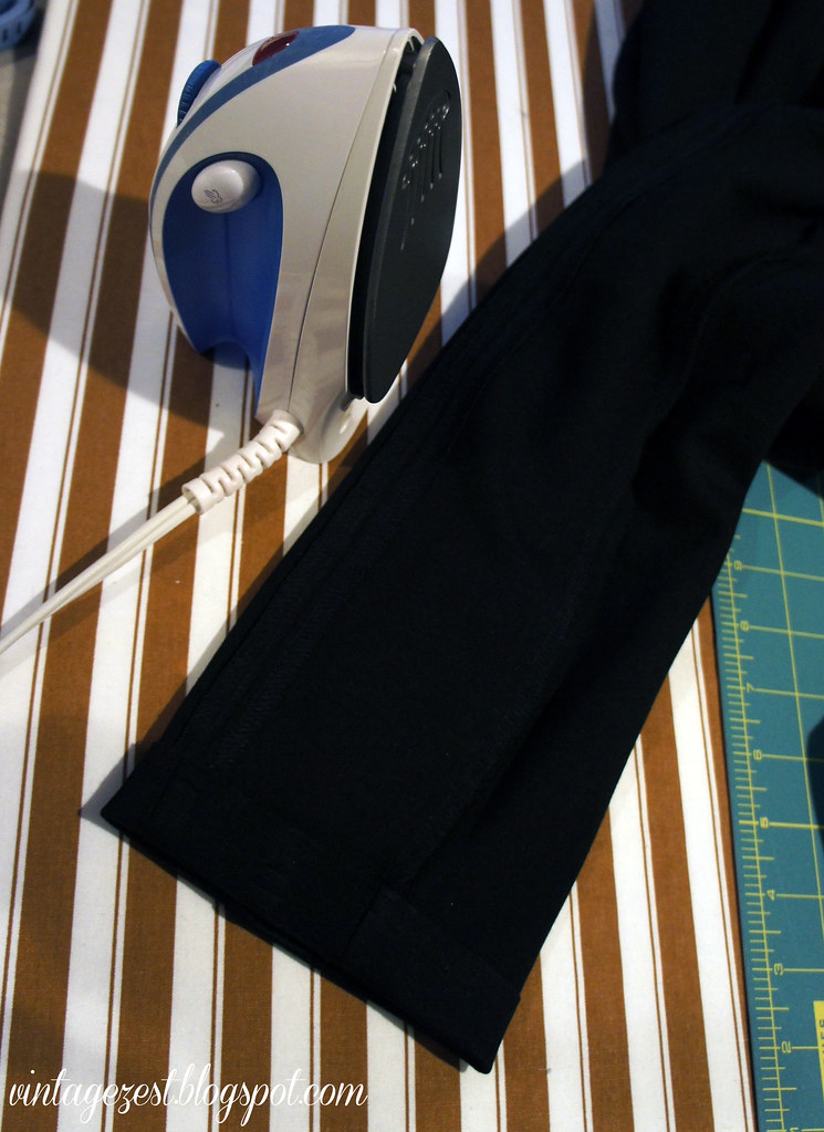 Hemming Pants 3