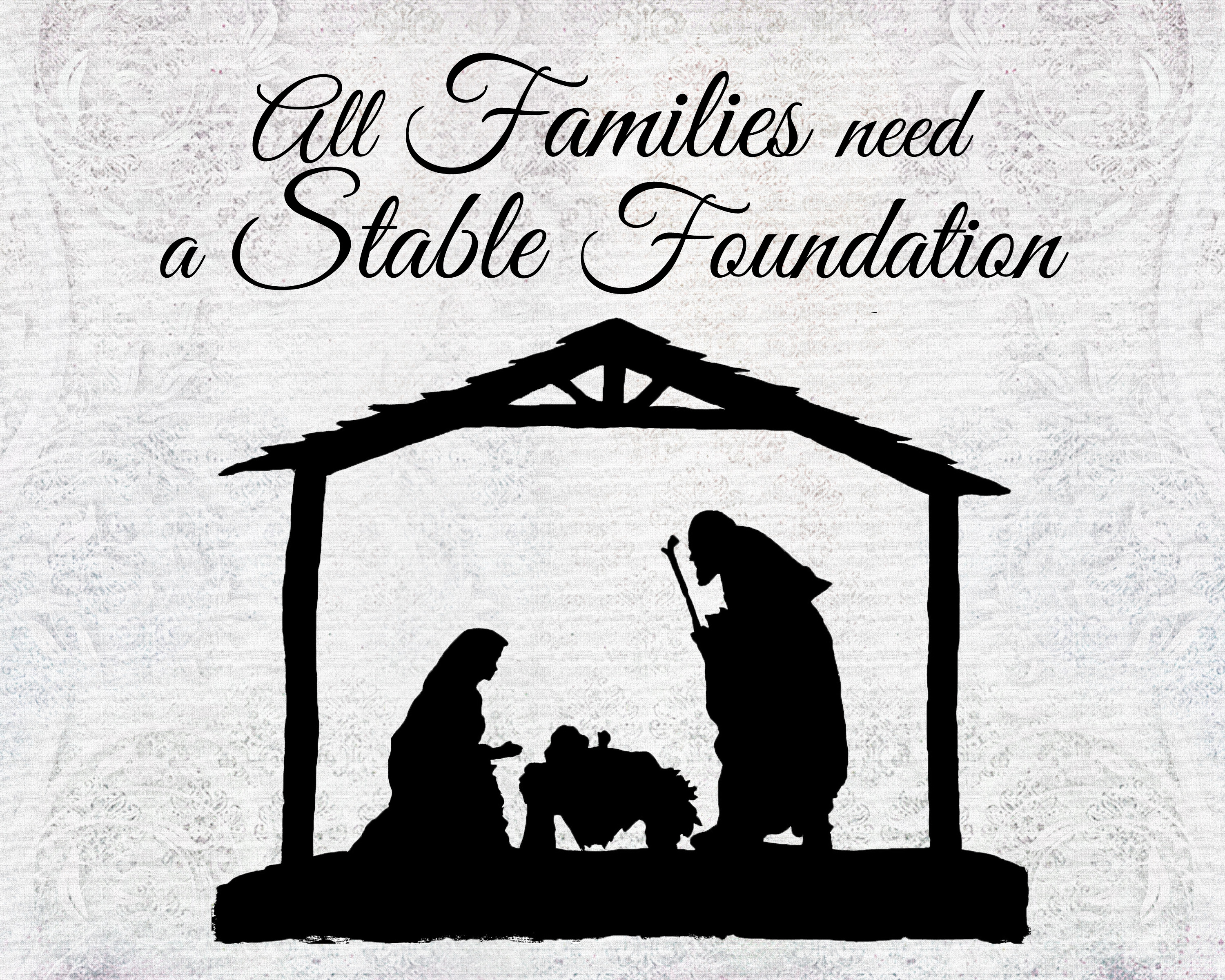 A Pocket Full Of LDS Prints: All Families Need A Stable