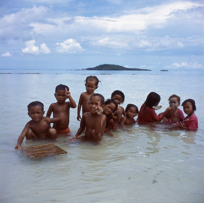 Island Kids at Semporna