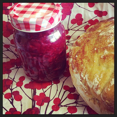 Perfect partnership: homemade bread... Homemade relish... Now where's that cheese?! @paosinis