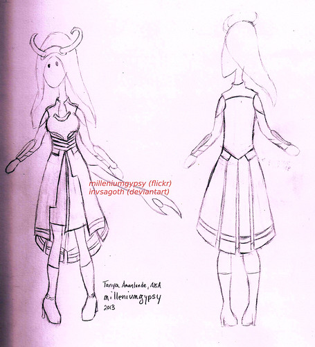 My Lady Loki costume design
