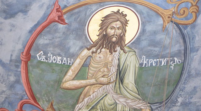 St. John the Baptist Icon from Flickr via Wylio