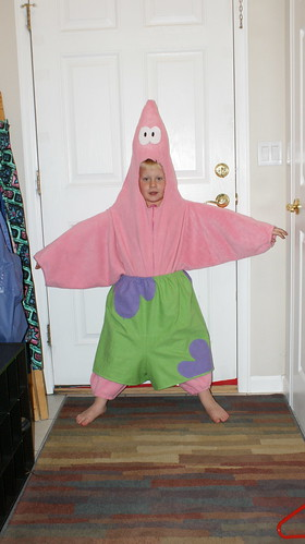 Patrick Starfish Costume by wagsdot911