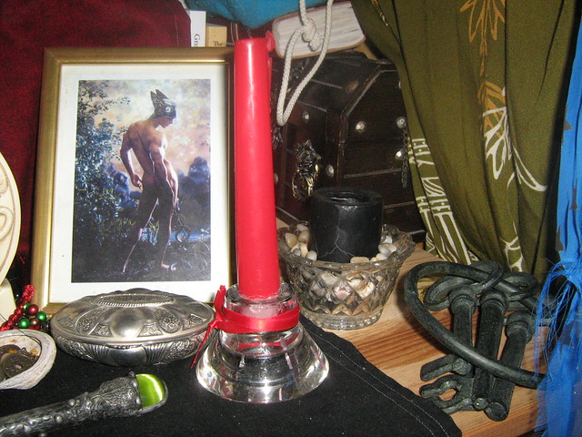 Hekate Shrine - Hermes' side
