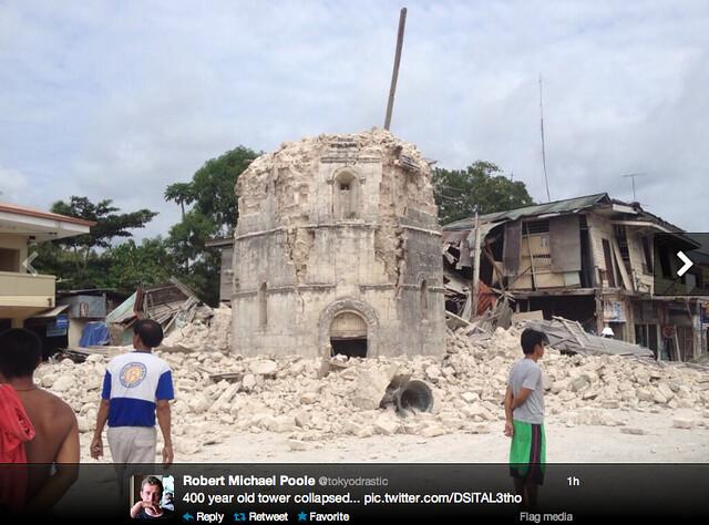 Strong quake rocks Visayas; 6 dead