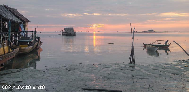 Levé de Soleil sur Bintan