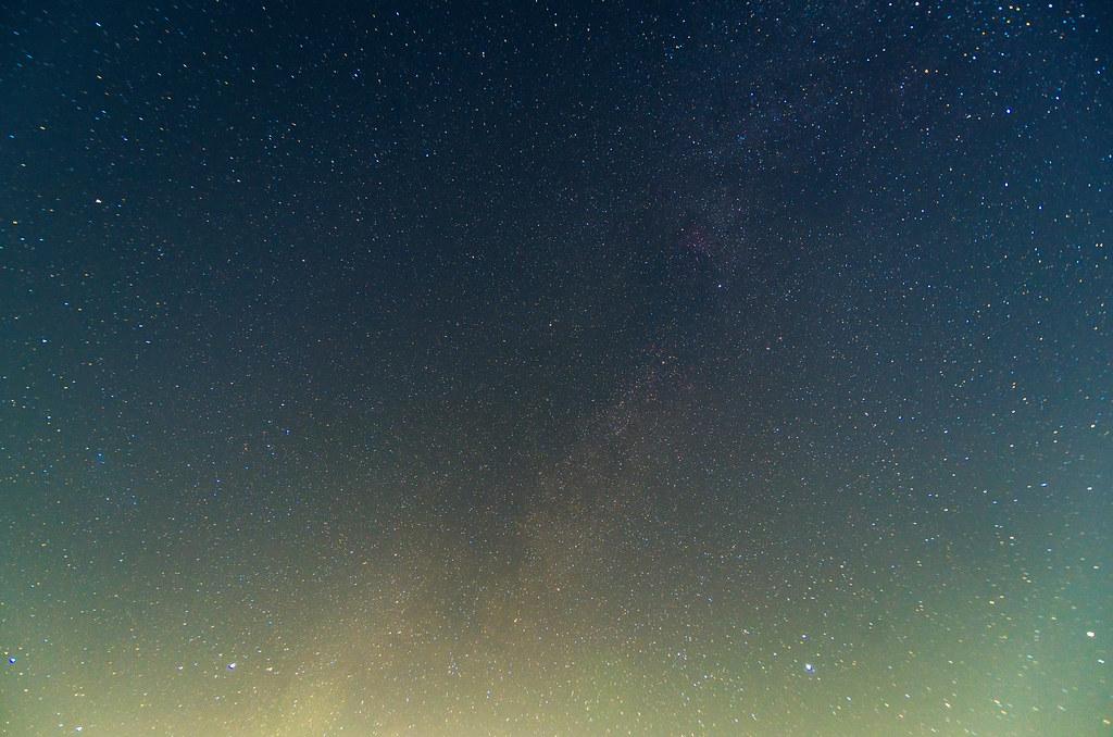 夏の大三角形付近 2013-10-01