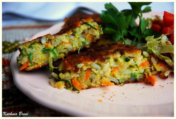 Kotleciki ryżowo-warzywne