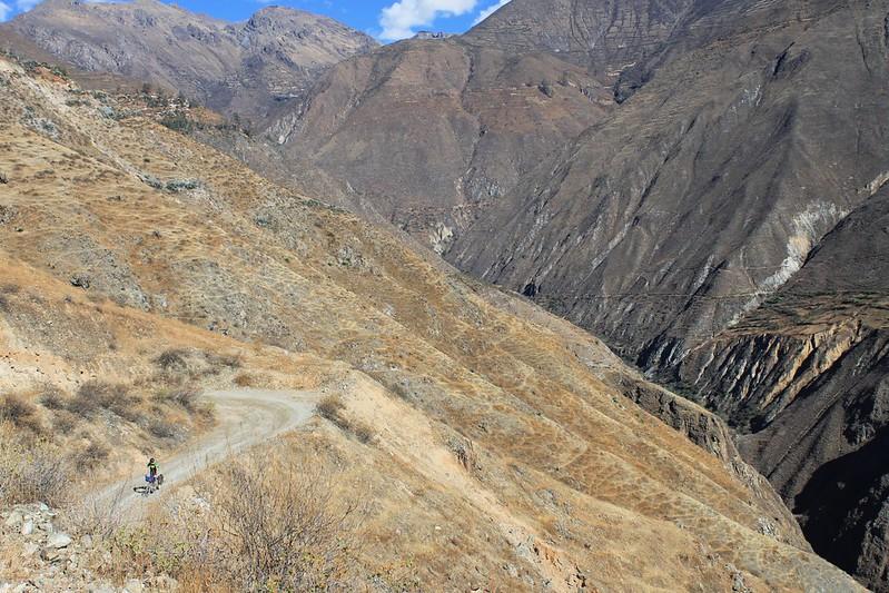 Descending to Cañon