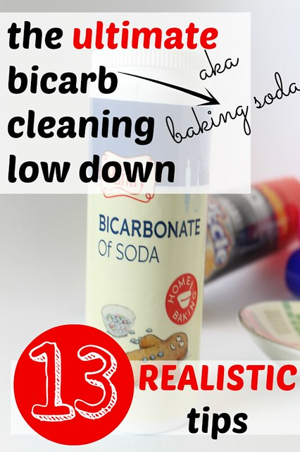 Cleaning With Bicarbonate Of Soda A Thrifty Mrs