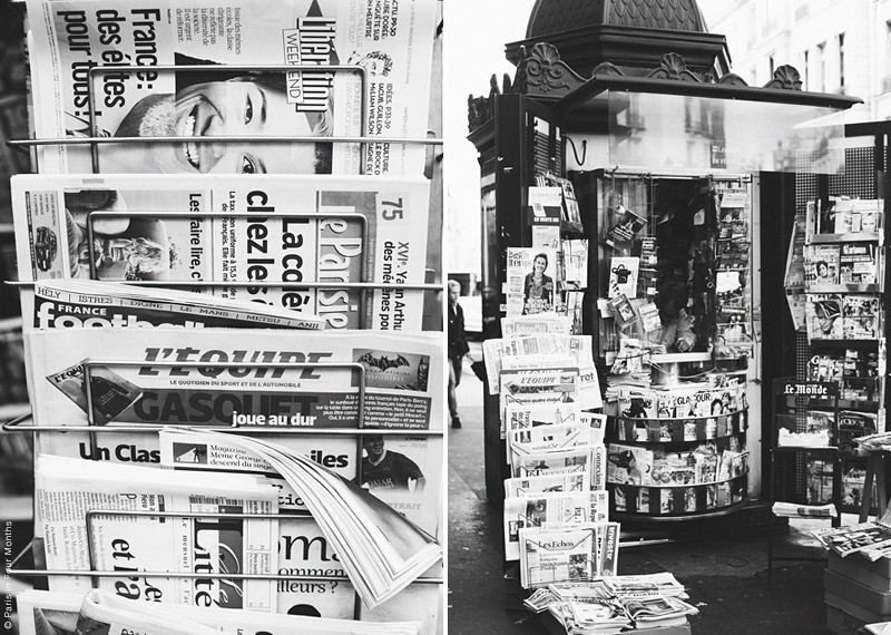 Parisian Newsstand