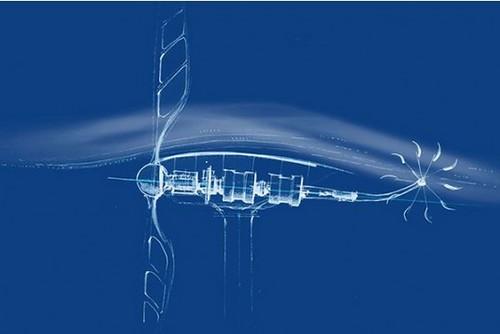 Создателя революционного ветряка вдохновила стрекоза