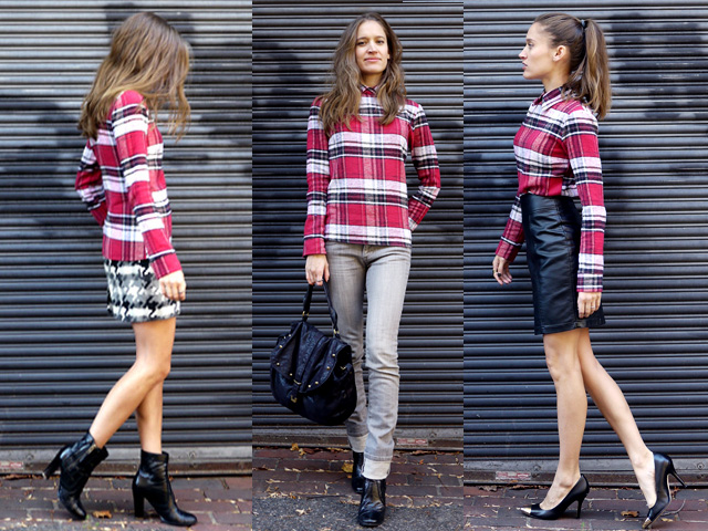 12 the reformation plaid shirt upcycled sustainable fashion copy