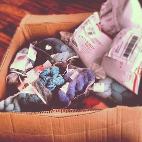 It's the November KAL kit ship day!