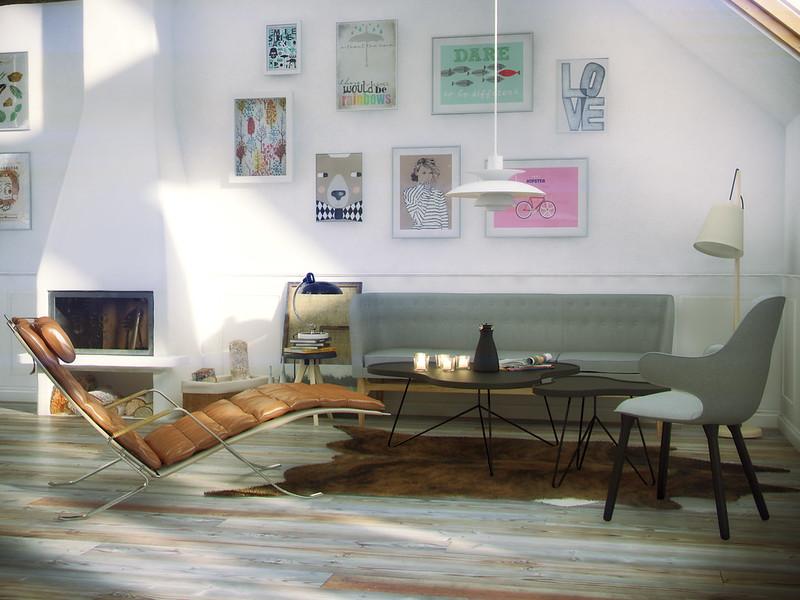 Attic apartment - Setting up an attic apartment ...