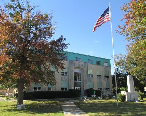 oklahoma ok courthouses stigler countycourthouses haskellcounty usccokhaskell waltertvahlberg